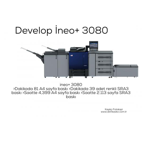 Develop İneo+ 3080 / Konica Minolta AccurioPress C3080