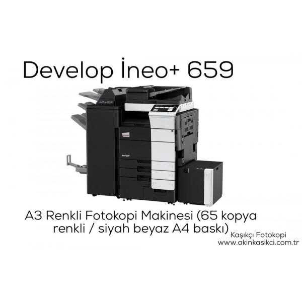 Develop İneo+ 659 Konica Minolta Bizhub C659