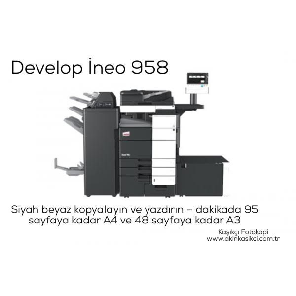 Develop İneo 958 / Konica Minolta Bizhub Pro 958