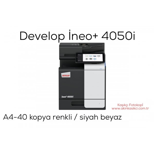 Develop İneo+ 4050i Konica Minolta Bizhub C4050i